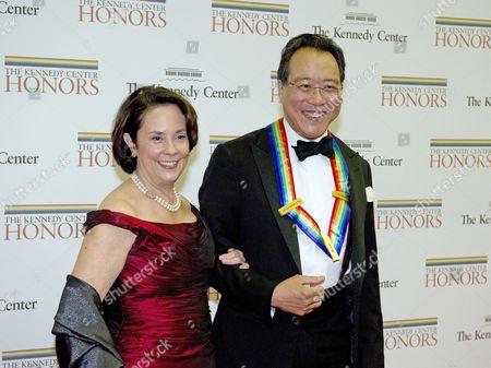 Stock Photo of Yo-Yo Ma and Jill Hornor
