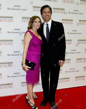 Ray Romano and his wife, Anna Romano