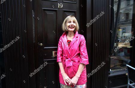 Editorial picture of Carole Stone, Covent Garden, London, Britain - 23 Oct 2012