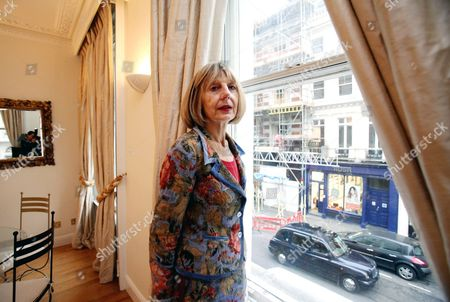 Editorial picture of Carole Stone, Covent Garden, London, Britain - 23 Oct 2012