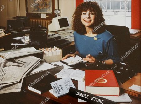 Carole Stone when she was producer of the BBC programme 'Any Questions?'