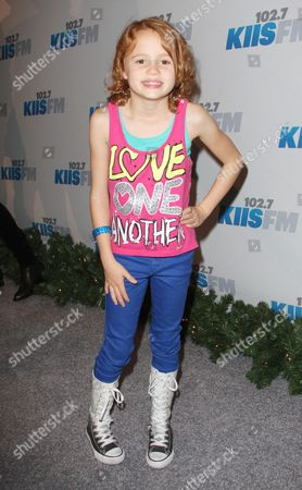 Editorial picture of Kiss FM Jingle Ball at the Nokia Theater, Los Angeles, America - 01 Dec 2012