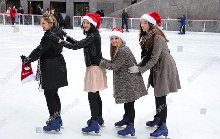 Kaitlyn Jenkins, Julia Goldani Telles, Bailey Buntain and Emma Dumont