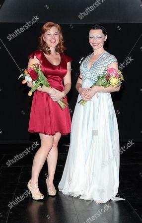 Rebecca Faulkenberry and Katrina Lenk