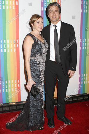 Ray Romano and wife Anna Romano