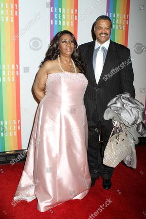 Stock Picture of Aretha Franklin and Richard Gibbs