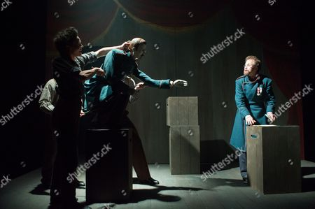 'The Double' - Jane Leaney Sean Murray, Nicholas Karimi and Simon Scardifield.