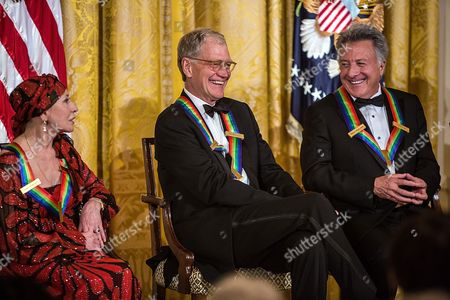 Natalia Makarova, David Letterman and Dustin Hoffman