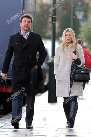 Stock Image of Nick Knowles and Jessica Moor