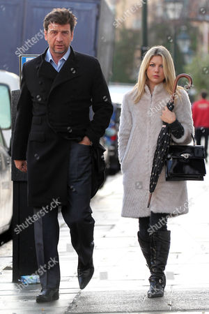 Editorial photo of Nick Knowles and wife Jessica Moor in Chelsea, London, Britain - 03 Dec 2012