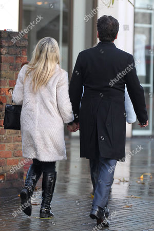 Jessica Moor and Nick Knowles