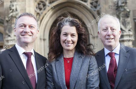 Steve Reed, Sarah Champion and Andy McDonald