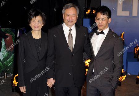 Jane Lin, Ang Lee and Mason Lee