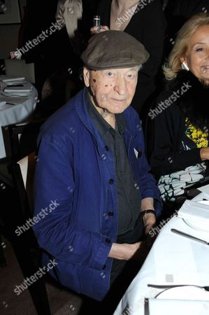 Editorial picture of The Serpentine Gallery Council Dinner for Jonas Mekas, London, Britain - 03 Dec 2012