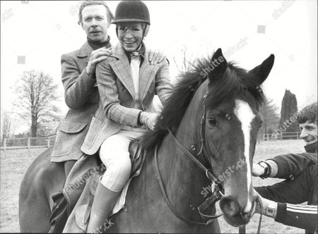 Actor And Actress Brian Murphy And Yootha Joyce(dead August 1980) Riding The Horse Double Header.