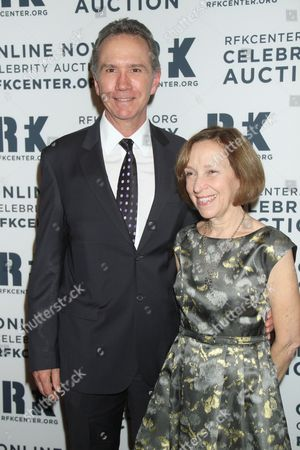 Stock Image of John Zurich and guest