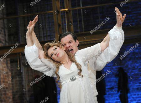 Lucy Briggs Owen as Maryna Mniszech and Gethin Anthony as Grigory Otrepiev