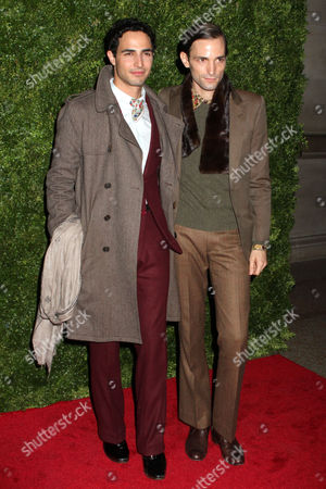 Stock Image of Zac Posen and Christopher Niquet