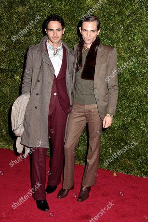 Zac Posen and Christopher Niquet