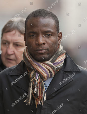 Duwayne Brooks Friend Of Murdered Teenager Stephen Lawrence Arriving At The Old Bailey To Give Evidence In The Trial Of David Norris And Gary Dobson. 17.11.11.