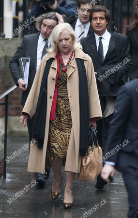 Mary-ellen Field Elle Macpherson's Former Assistant Arrives At The High Court London For The Leveson Inquiry Into Press Practices With Steve Coogan And Their Solicitor David Sherborne   211111