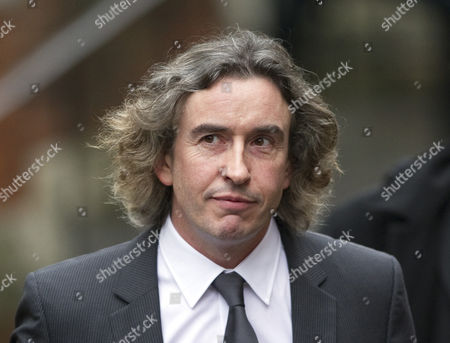 Steve Coogan Arrives At The High Court London For The Leveson Inquiry Into Press Practices With His Solicitor David Sherborne.