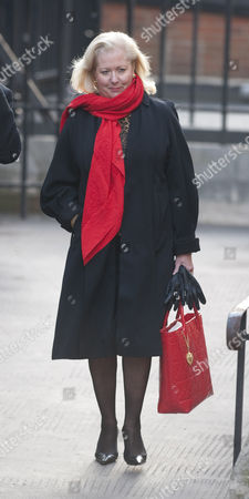 Mary-ellen Field Arrives At The Royal Courts Of Justice London For The Leveson Inquiry Into Press Practices.