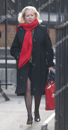 Editorial image of Mary-ellen Field Arrives At The Royal Courts Of Justice London For The Leveson Inquiry Into Press Practices.