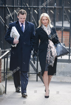 Sheryl Gascoigne Arrives At The Royal Courts Of Justice London For The Leveson Inquiry Into Press Practices.