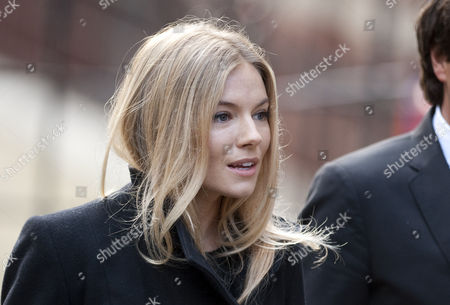 Sienna Miller Arrives At The High Court London For The Leveson Inquiry Into Press Practices With Lawyer David Sherborne.