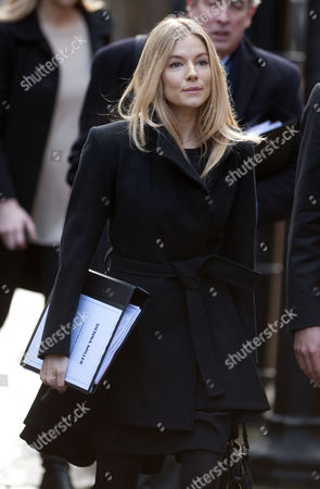 Sienna Miller Arrives The High Court London For The Leveson Inquiry Into Press Practices With Lawyer David Sherborne.