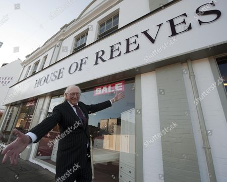 Maurice Reeves Delights In The Near Completion Of House Of Reeves Reeves's Corner Croydon After Its Predecessor Was Destroyed By Rioters.