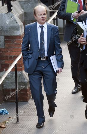 Former Joanna Yeates Murder Suspect Christopher Jefferies Arriving At The High Court In London To Give Evidence To The Leveson Enquiry. 28.11.11.