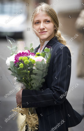 Editorial image of Picture Shows Katia Zatuliveter Leaving The The Special Immigration Appeals Commission London Today. An Alleged Russian Spy Who Had An Affair With Liberal Democrat Mp Mike Hancock While Working For Him Has Won Her Appeal Against Deportation. The Spec