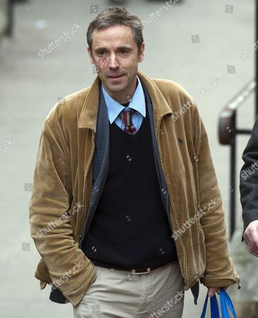 Journalist Paul Mcmullan Arriving At The Leveson Enquiry At The High Court In London. 29.11.11.
