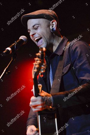 Stock Image of Jacob Hoggard and Dave Rosin