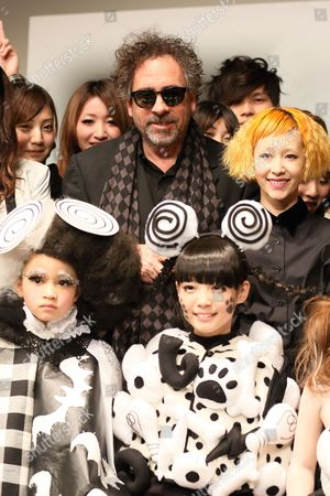Editorial picture of Frankenweenie fashion contest, Tokyo, Japan - 05 Dec 2012