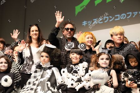 Editorial image of Frankenweenie fashion contest, Tokyo, Japan - 05 Dec 2012