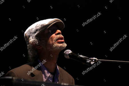 Editorial image of Gil Scott-Heron in concert at Summer Series at Somerset House, London, Britain - 14 Jul 2010