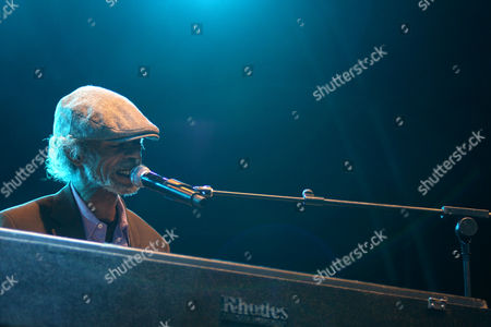 Editorial photo of Gil Scott-Heron in concert at Summer Series at Somerset House, London, Britain - 14 Jul 2010