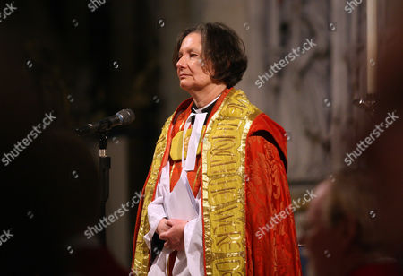 The Very Reverend Vivienne Faull during her installation as The Dean of York
