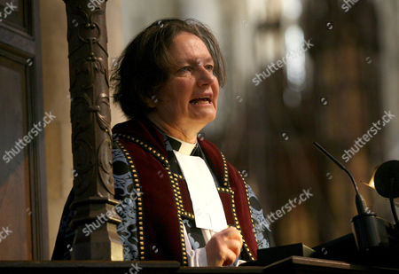 Stock Photo of The Dean of York - The Very Reverend Vivienne Faull