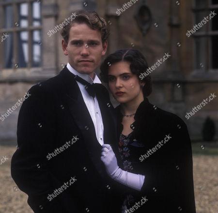 Ben Pullen as Jack Renauld and Sophie Linfield as Marthe Daubreuil