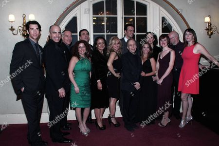 Stock Picture of Andy Karl, William Michals, Michael Winther, Kelli Rabke, Bill Daugherty, Natalie Toro, Orfeh, Cheyenne Jackson, Scott Siegel, Christina Bianco, Barbara Walsh, Carole J. Bufford, Scott Coulter, Julia Murney