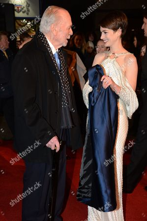 Herbert Kretzmer and Anne Hathaway