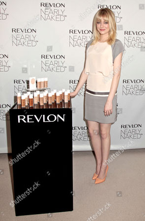 Editorial photo of Revlon Nearly Naked Makeup launch, New York, America - 05 Dec 2012