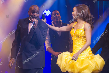 Editorial image of 'The Bodyguard' play press night at the Adelphi Theatre, London, Britain - 05 Dec 2012