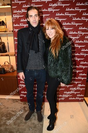 Stock Picture of Charles Forbes and Charlotte Tilbury