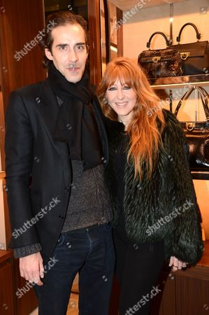 Stock Image of Charles Forbes and Charlotte Tilbury