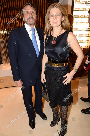 Editorial photo of Salvatore Ferragamo 75th Year Celebration, London, Britain - 05 Dec 2012